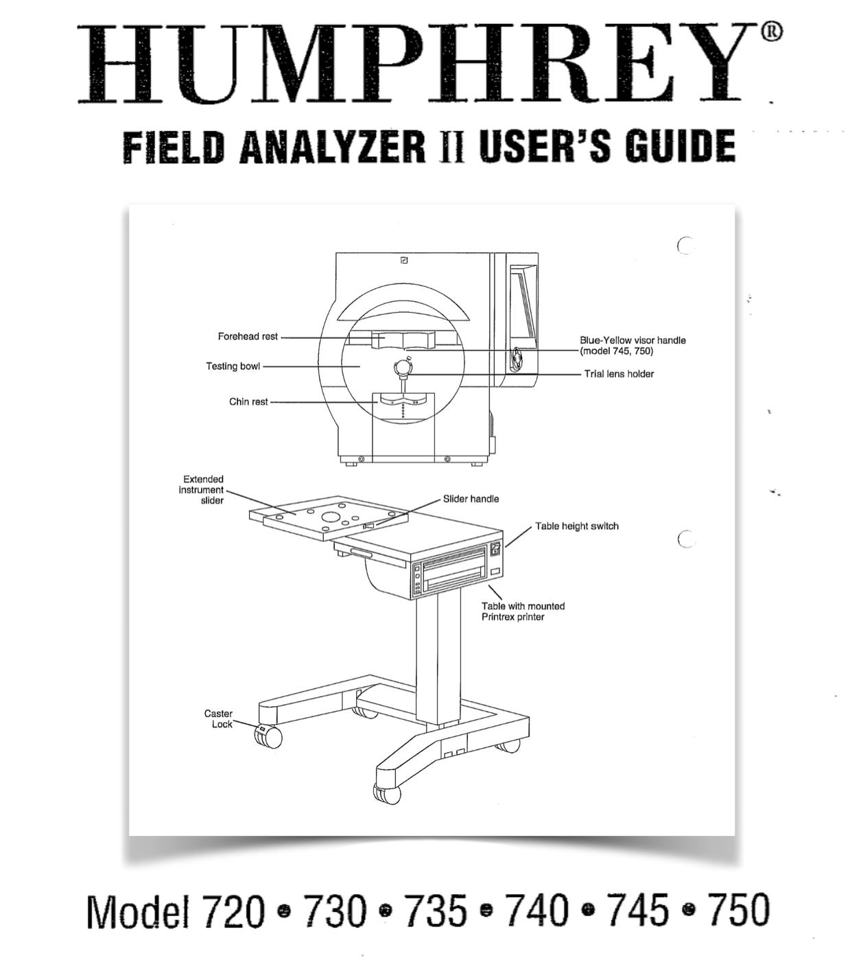 Analyzer field humphrey visual