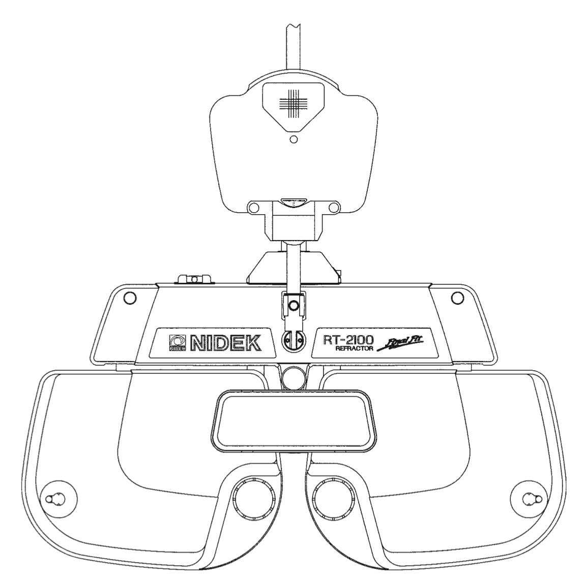 RT 2100 Digital Phoropter